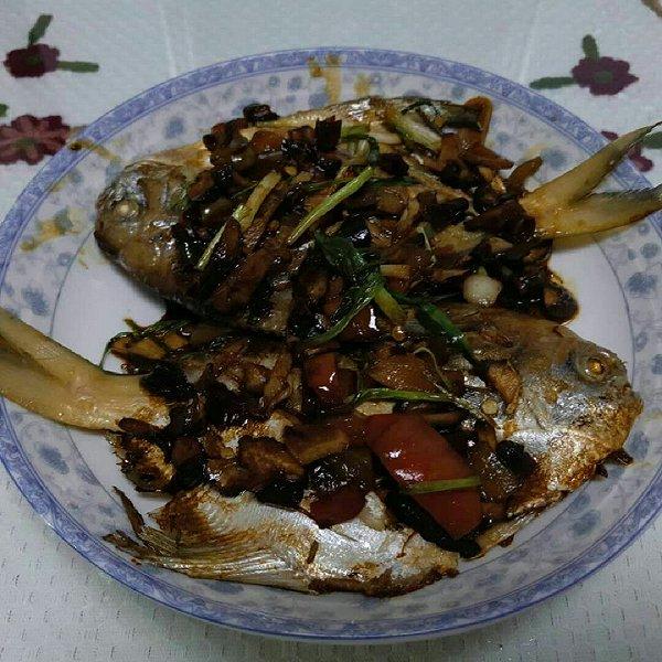 莉莉百惠子的红烧猪肉#嗨MilK出山鲳鱼#做法食谱什么部位适合煮图片