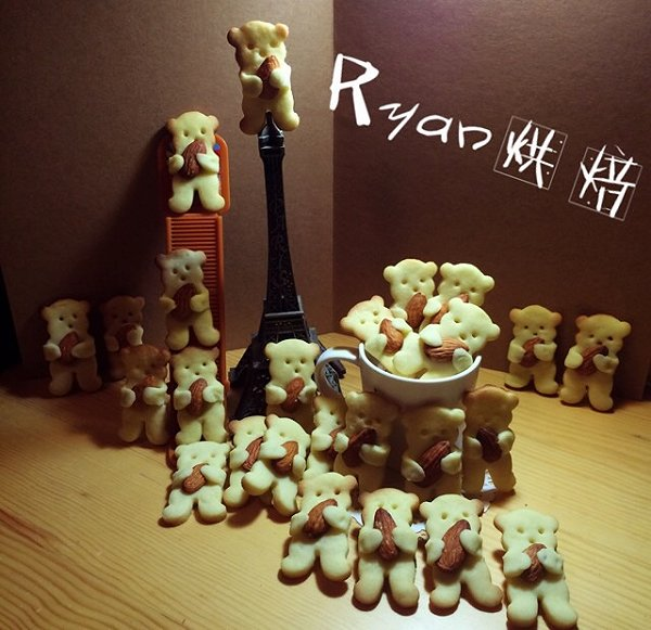 ryan90的动物曲奇饼干做法的学习成果照