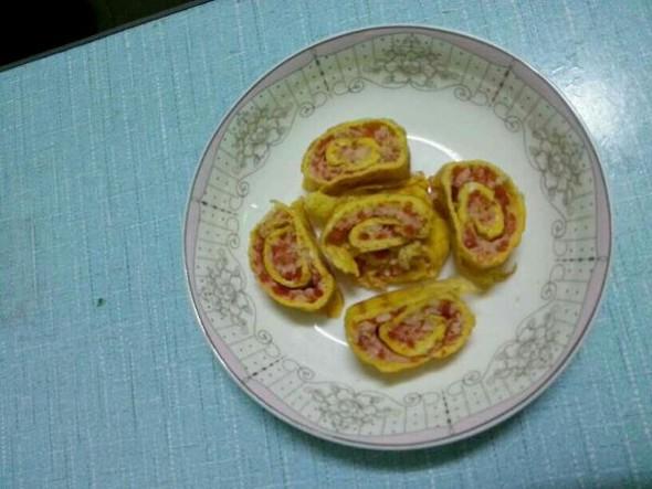 芙蓉蛋卷的做法