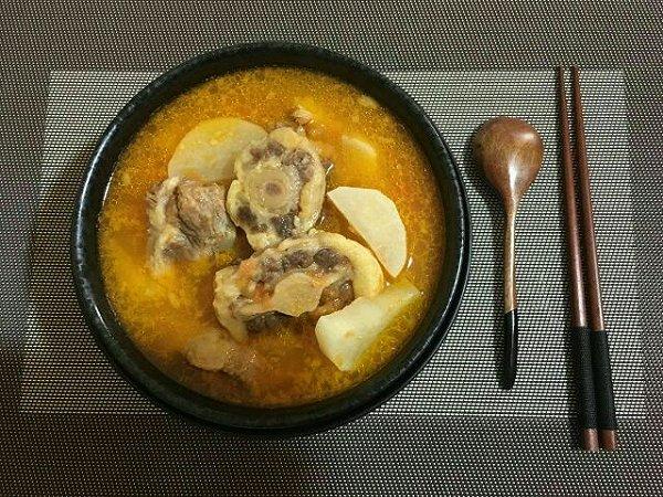 冰语的做法骨汤成果的v做法牛尾照泼菜能和鸭血一起吃吗图片