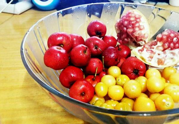 amy梁是我的水果餐做法的学习成果照