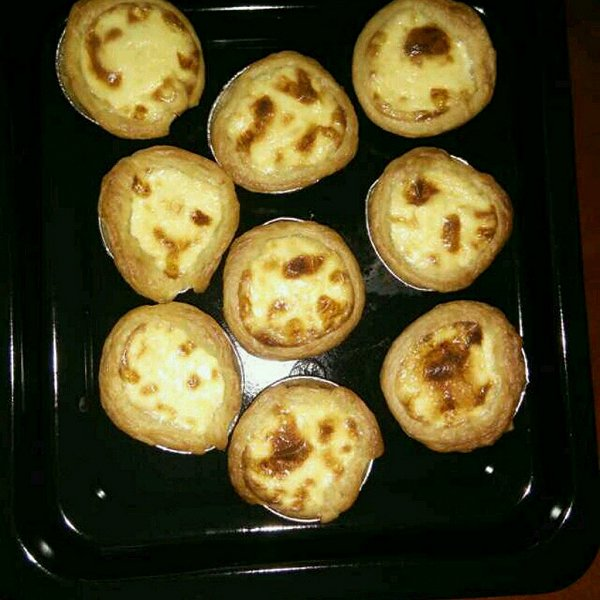 h_我素好菇凉的蛋挞做法的学习成果照_豆果美食