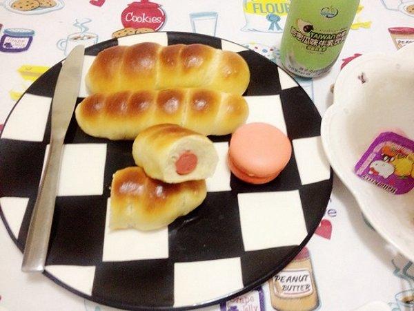 娜娜ci的热面包做法的学习成果照
