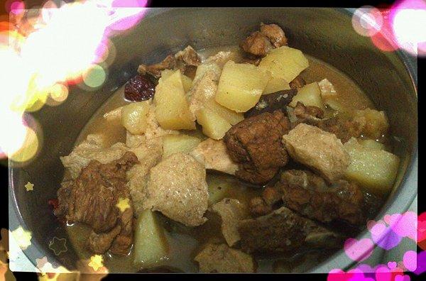 红烧排骨豆腐果的做法