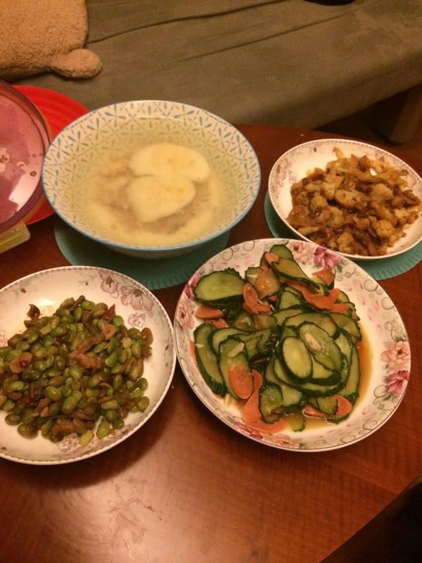 小可爱0908的黄瓜炒火腿肠做法的学习成果照_豆果美食