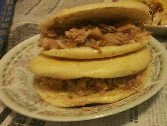 腊汁肉夹馍的做法