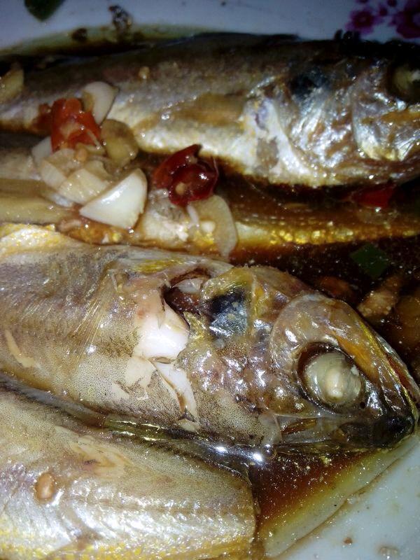 电饭煲(微波炉)黄鱼的做法