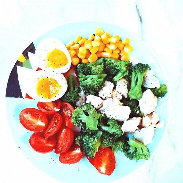 减脂增肌鸡胸-西兰花炒食谱肉fitv鸡胸超级减脂图片