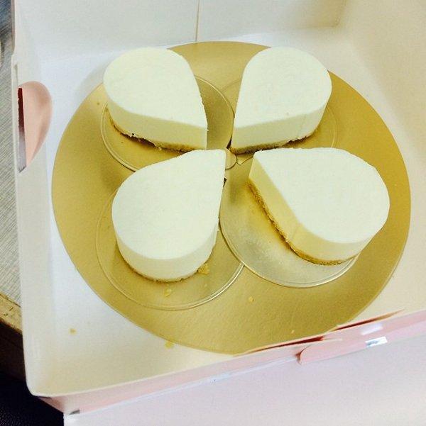 冻芝士木糠蛋糕