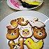 【原创】布朗熊系列糖霜饼干~~萌萌哒!