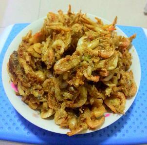 五香小河虾的做法