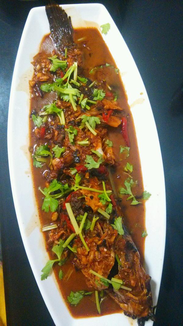 sarah wang fo的红烧鱼做法的学习成果照 豆果美食