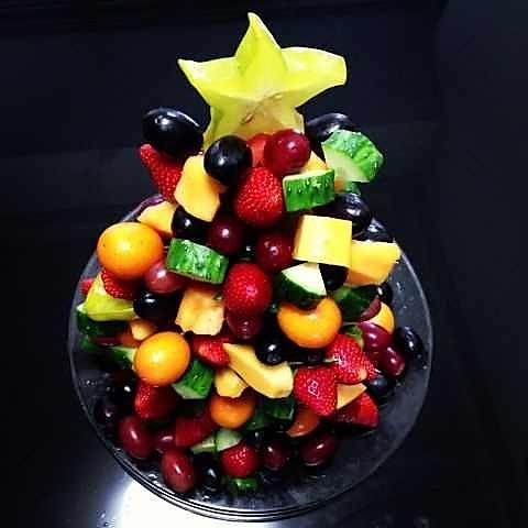 温苌踬滞的水果圣诞树做法的学习成果照