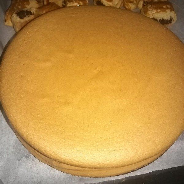 梅依寒的木糖醇戚风蛋糕做法的学习成果照