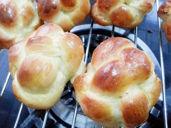 胡萝卜绣球面包