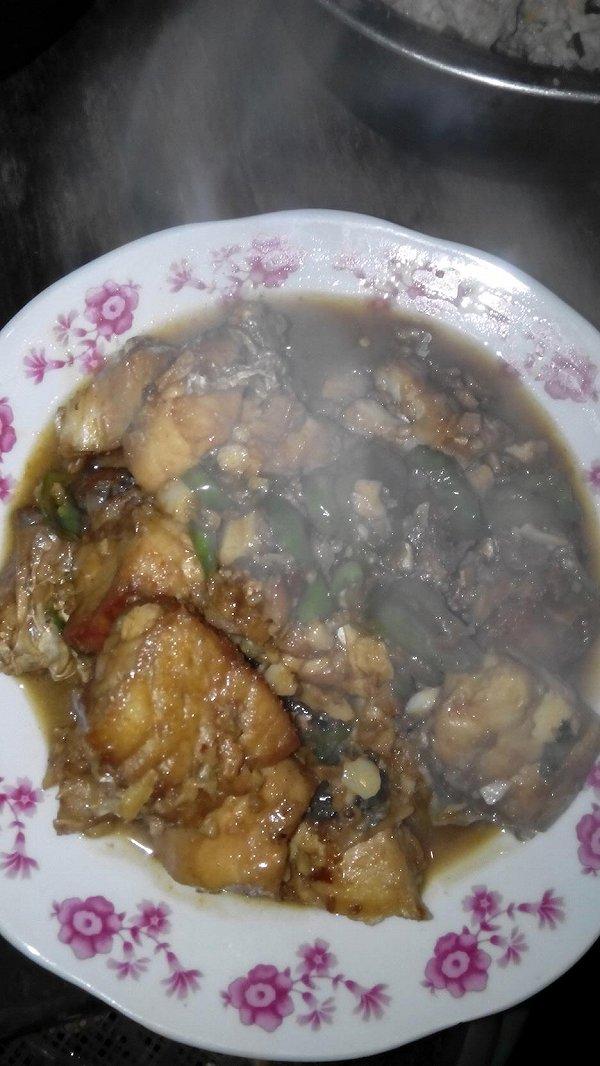 尹子520的红烧鱼块做法的学习成果照 豆果美食