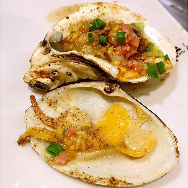 烤牡蛎的做法