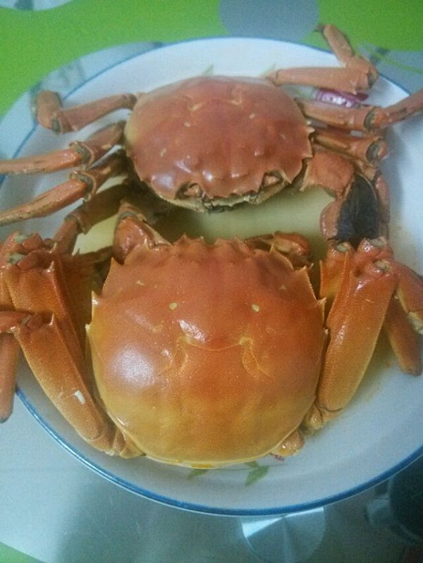on吃的路上的蒸蟹做法的学习成果照