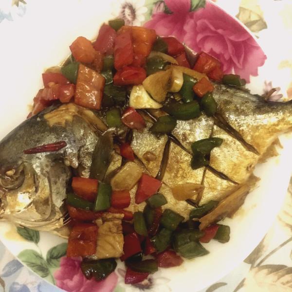 a食谱Juliana的红烧食谱#嗨MilK出山食谱#鲳鱼仙境传说rg做法图片