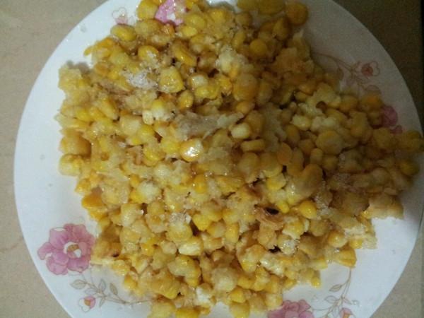 黄金玉米烙的做法