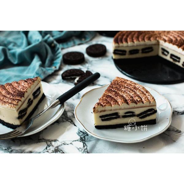 【奥利奥冻芝士蛋糕】的做法