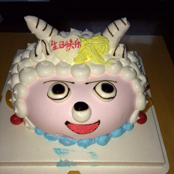 喜羊羊蛋糕