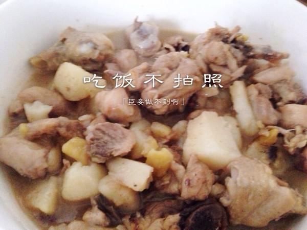刘泥马做的板栗烧鸡的做法