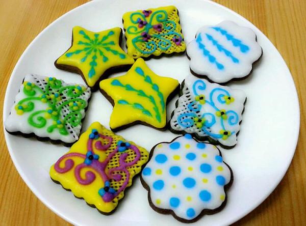 【豆蔻。】糖霜饼干的做法