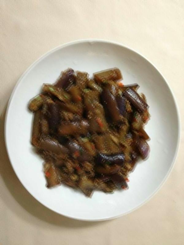 油淋肉末茄子的做法