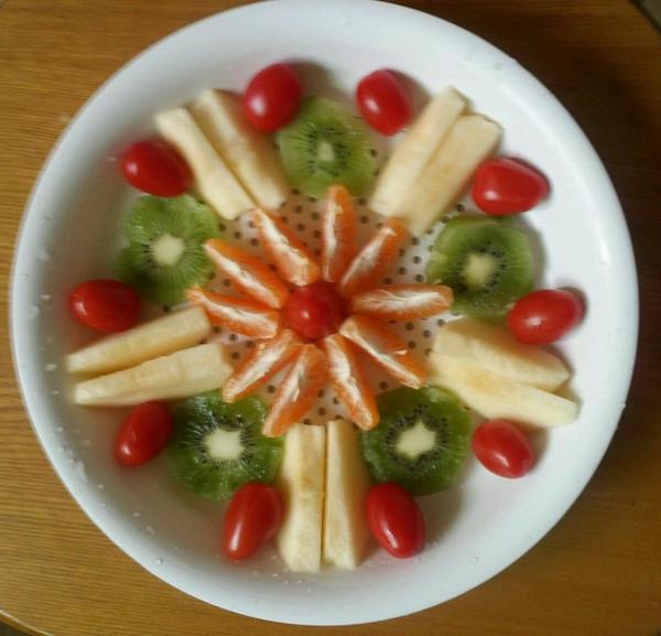 吃开心1的水果拼盘做法的学习成果照 豆果美食