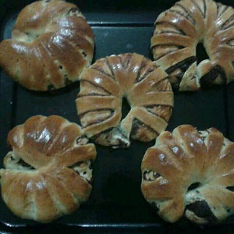 花豆沙面包的做法