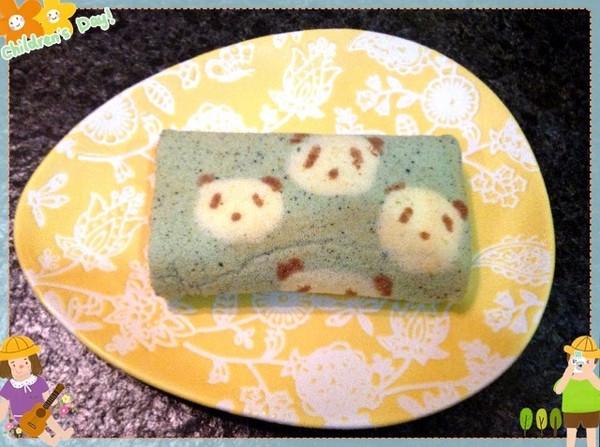 乐琪85的小熊猫蛋糕卷做法的学习成果照