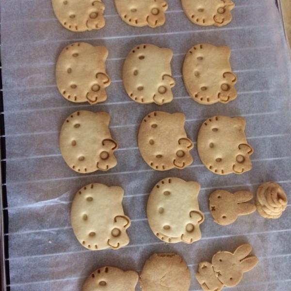 9724冬做的动物曲奇饼干的做法