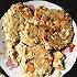 减脂食谱-杂蔬鸡胸肉煎饼