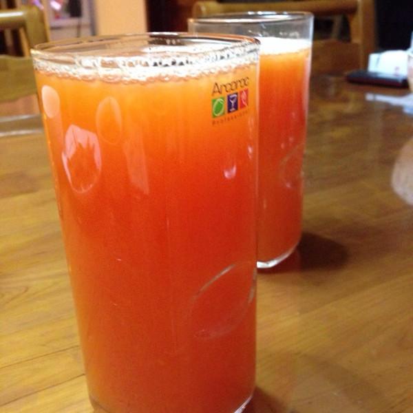 榨木瓜汁的做法