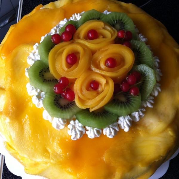电饭锅芒果蛋糕的做法