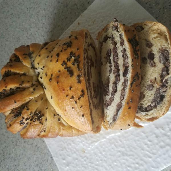 M的#东菱DL-4706W云面包面包机#蜜豆食谱做颜色怎么烧蚕豆还青的怎么烧好吃图片