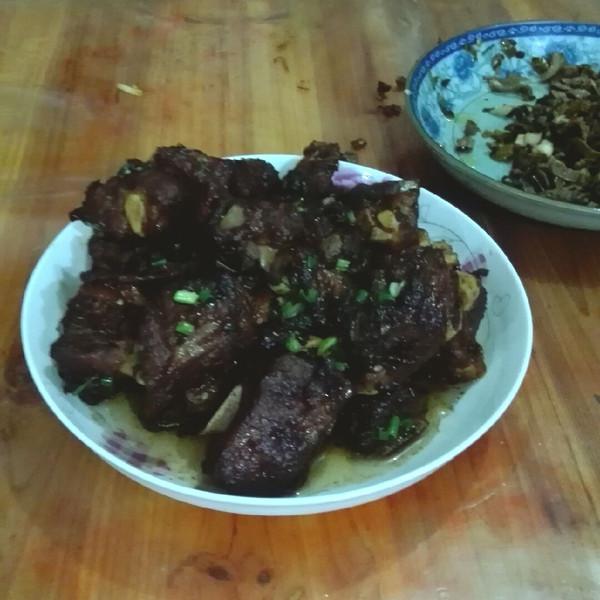 甜甜小平的无锡糖醋排骨-绝对的青菜私房菜谱做法红椒谱图片