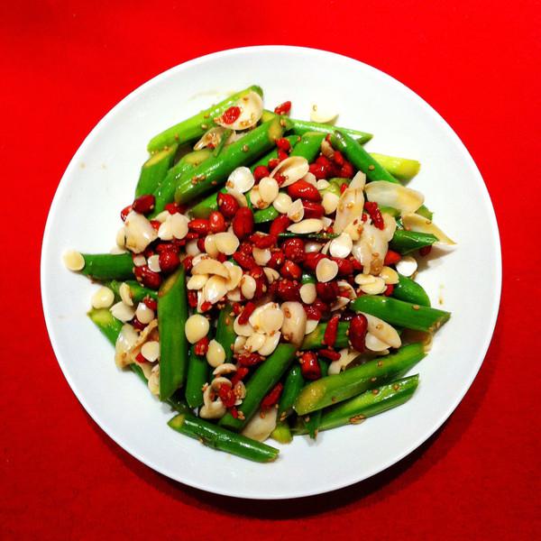 让我安静的凉拌芦笋做法的学习成果照 豆果美食
