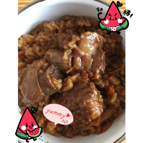 Nev°__24_*的李子焖饭--让你米饭鸭肉宝宝食排骨能同爱上一起吃吗图片