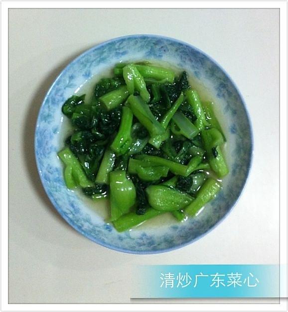 清炒小油菜的做法