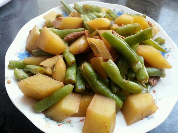 芸豆烩土豆的做法
