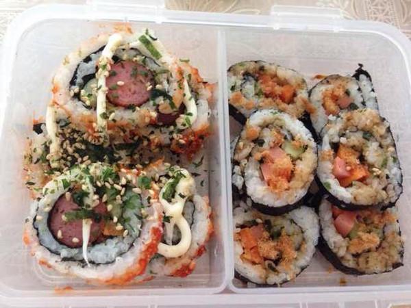 潘多拉私房菜做的寿司卷的做法