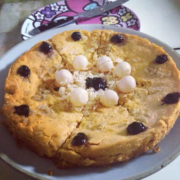 木瓜燕麦蛋糕的做法