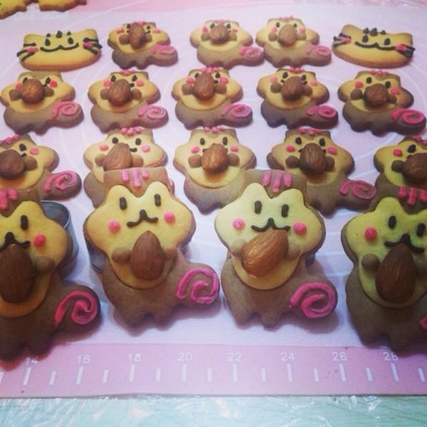叶緢紫的萌萌哒小动物饼干做法的学习成果照