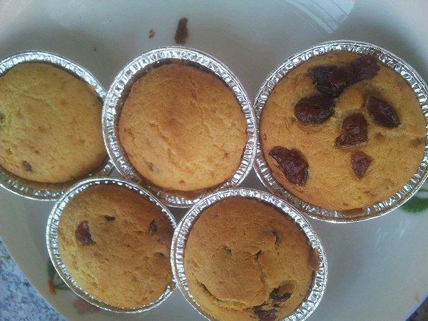 蔓越莓麦芬蛋糕的做法