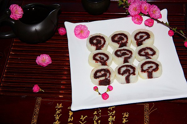 中式茶点——山药豆沙卷图片