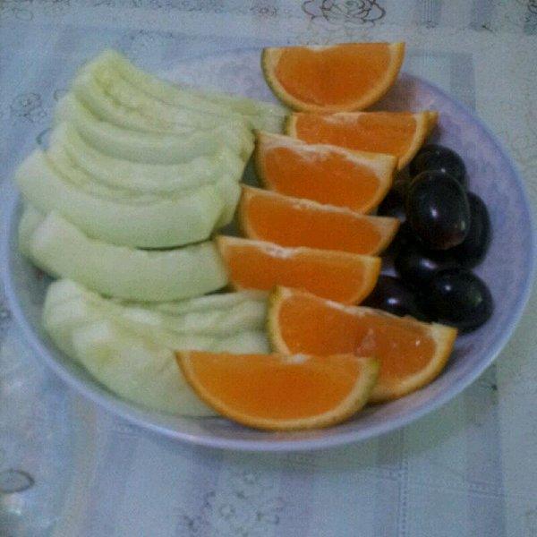 2014的简单水果拼盘做法的学习成果照 豆果美食