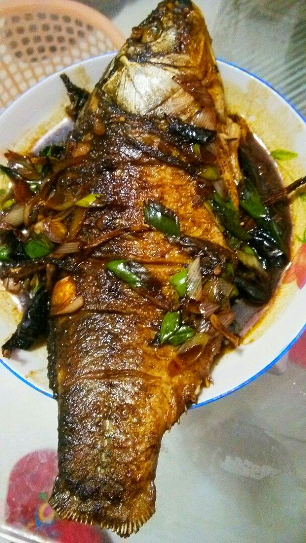 你的爱我守住 的红烧鱼做法的学习成果照 豆果美食