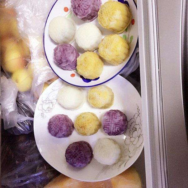 马卡龙冰皮月饼(冰皮月饼粉专用)的做法